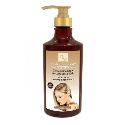 Health and Beauty Keratin Shampoo For Smoothed Hair   (Keratīna šampūns gludiem matiem)