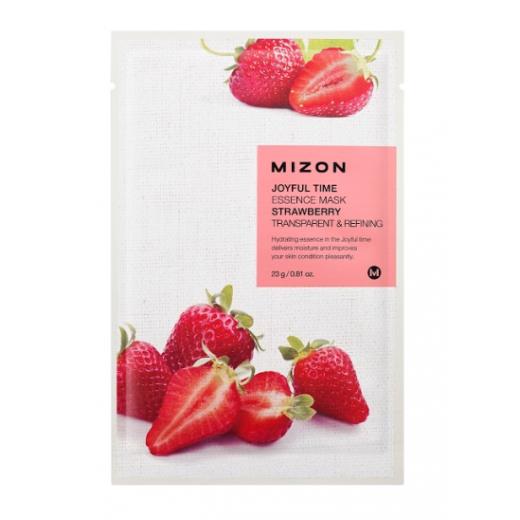 Mizon Joyful Time Essence Mask Strawberry  (Sejas maska ar zemenēm)