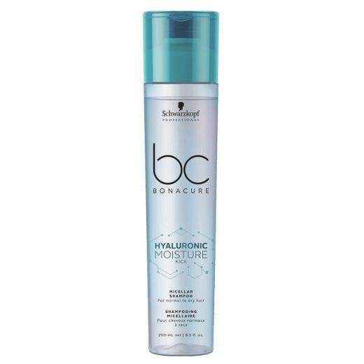 Schwarzkopf BC Bonacure Hyaluronic Moisture Kick Micellar Shampoo  (Micelārais šampūns matu mitrināš