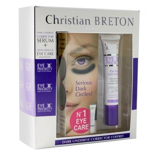 Christian Breton Anti Fatigue Eye Set   (Komplekts acu zonas kopšanai)