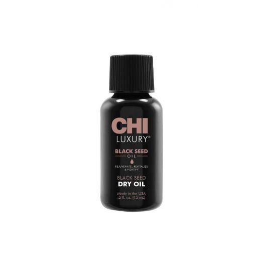 CHI Luxury Black Seed Dry Oil  (Sausā eļļa matiem)