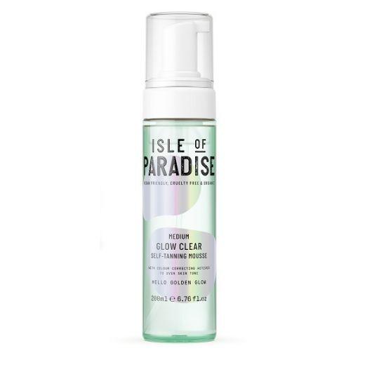 Isle of Paradise Medium Glow Clear Self Tanning Mousse  (Paštonējošās putas)