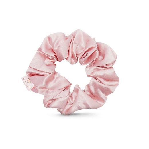 Crystallove Silk Scrunchie - Rose  (Zīda matu gumija – rose)