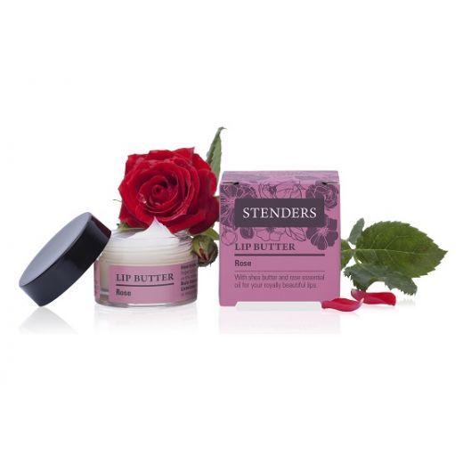STENDERS Lip Butter Rose  (Rožu lūpu sviests)