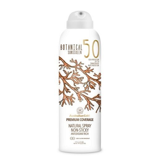 Australian Gold Botanical Sunscreen SPF 50 Spray  (Saules aizsargsprejs SPF 50)