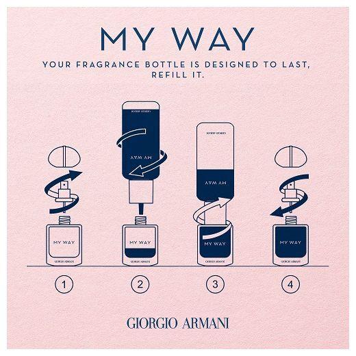Giorgio Armani My Way Intense Refill