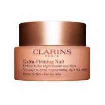 Clarins Extra – Firming Nuit Dry Skin  (Atjaunojošs nakts sejas krēms sausai ādai)
