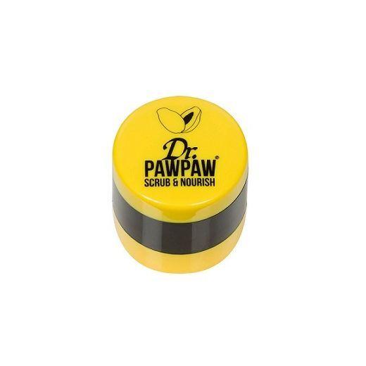 Dr. Paw Paw Lip Srub & Nourish   (Universāls balzāms un skrubis)