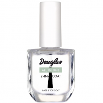 Douglas Nail Care All in One 2-in-1 Coat 10 ml  (Nagu lakas bāze un pārklājums)