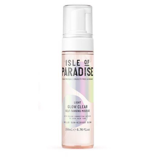 Isle of Paradise Light Glow Clear Self Tanning Mousse  (Paštonējošās putas)