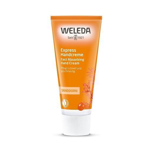 Weleda Sanddorn Express Hand Creme  (Smiltsērkšķu roku krēms)