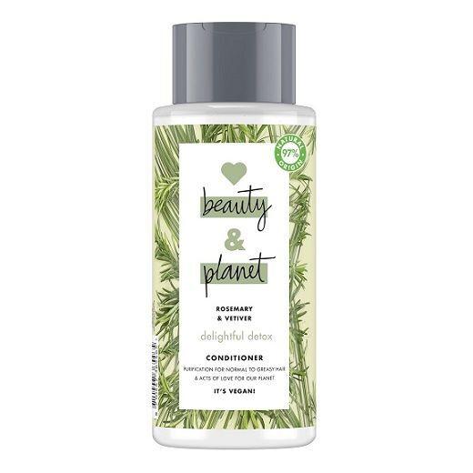 Love Beauty and Planet Rosemary & Vetiver Conditioner   (Dziļi attīrošs kondicionieris matiem)