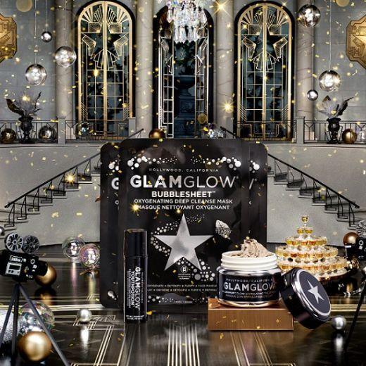 GlamGlow Instant Rejuvenating Glow Holiday Set  (Sejas kopšanas komplekts)
