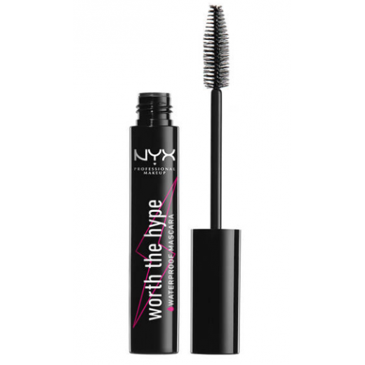 NYX Professional Makeup Worth The Hype Waterproof Mascara  (Ūdensnoturīga skropstu tuša)