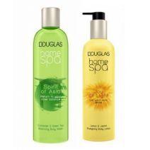 Douglas Home SPA Spirit Of Asia Body Wash + Joy Of Light Body Lotion  (Ķermeņa kopšanas komplekts)