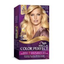 Wella Color Perfect 10/0 Very Light Blond  (Matu krāsa)
