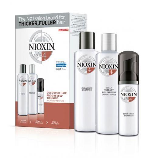 NIOXIN Trialkit System Nr.4  (Matu kopšanas komplekts)