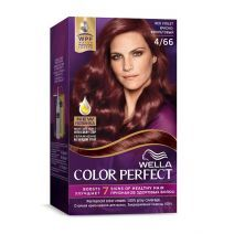 Wella Color Perfect 4/66 Red Violet  (Matu krāsa)