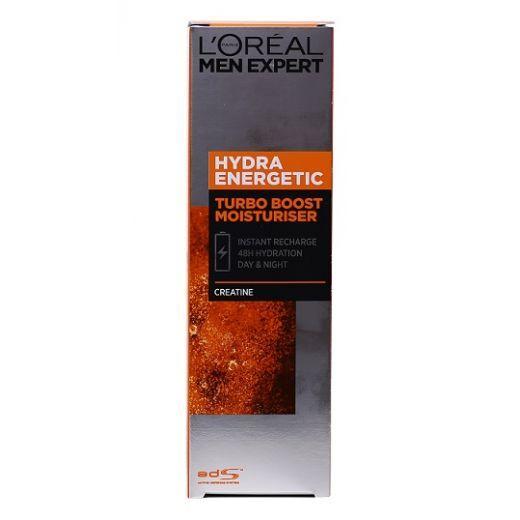 L'Oreal Paris Men Expert Hydra Energetic Turbo Boost Moisturise  (Mitrinoša želeja vīrietim)
