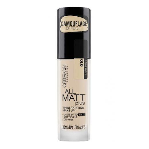 Catrice Cosmetics All Matt Plus Shine Control Make Up  (Tonālais krēms)
