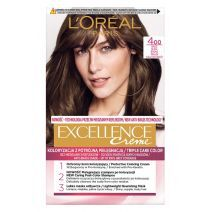 L'Oreal Paris Excellence Hair Color 400 Brown  (Matu krāsa)