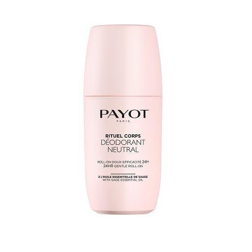 Payot Deodorant Roll-On Neutral  (Dezodorants rullīis bez spirta un alumīnijas sāļiem)