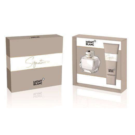 MontBlanc Signature Gift Set  (Aromāta dāvanu komplekts sievietei)
