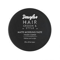 Douglas Hair Groom&Style Matte Modeling Paste 75 ml  (Matēta matu veidošanas pasta)