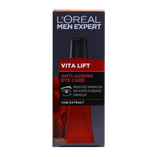 L'Oreal Paris Men Expert Vita Lift Anti-Aging Eye Cream  (Acu krēms vīrietim)