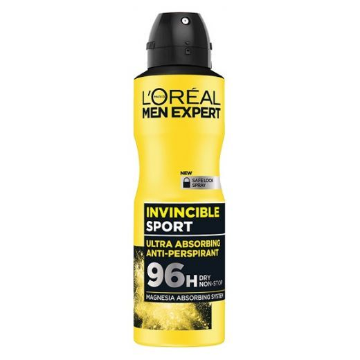 L'Oreal Paris Men Expert Invincible Sport Spray Antiperspirant  (Antiperspirants)