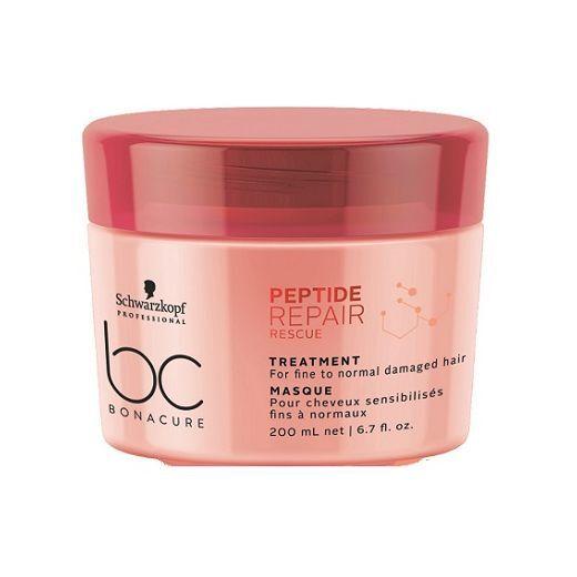 Schwarzkopf BC Bonacure Peptide Repair Rescue Treatment  (Maska matu atjaunošanai)