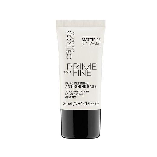 Catrice Cosmetics Prime and Fine Pore Refining Anti-Shine Base  (Bāze sejai)
