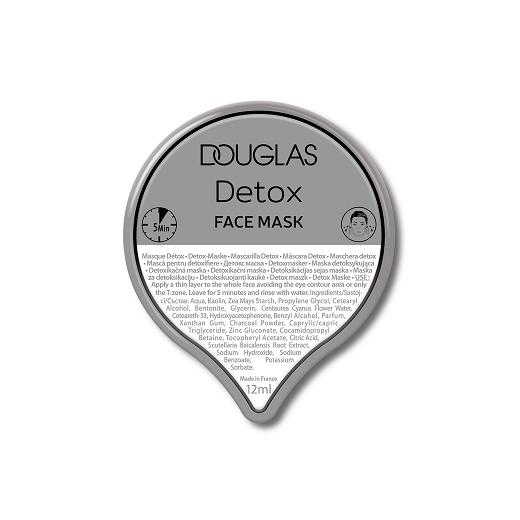 Douglas Collection Detox Face Mask  (Detoksa sejas maska)