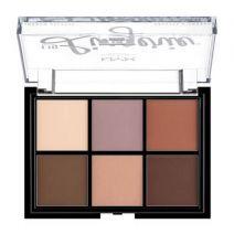 NYX Professional Makeup Lingerie Shadow Palette  (Acu ēnu palete)
