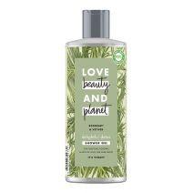 Love Beauty and Planet Rosemary & Vetiver Shower Gel   (Attīroša dušas želeja)