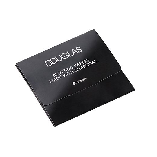 Douglas Make Up Charcoal Blotting Papers  (Sebumu uzsūcošas salvetes)