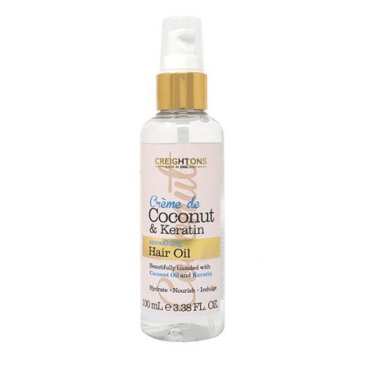 Creightons Crème de Coconut & Keratin Smoothing Oil  (Barojoša matu eļļa)