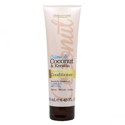 Creightons Crème de Coconut & Keratin Conditioner  (Kokosriekstu un keratīna kondicionieris)