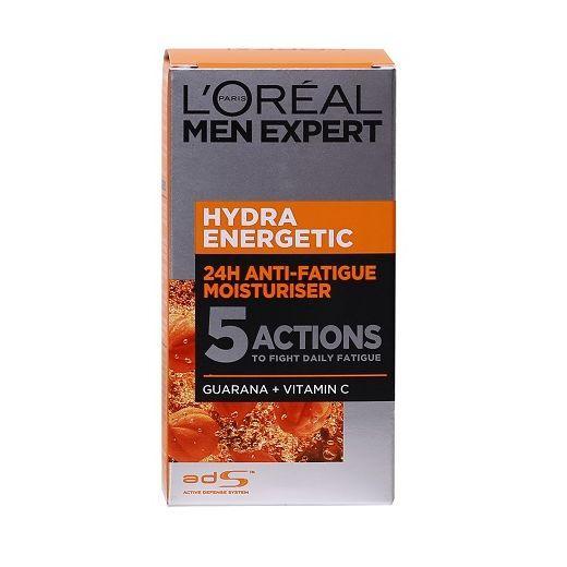 L'Oreal Paris Men Expert Hydra Energetic Anti-Fatigue Moisturiser  (Mitrinošs krēms vīrietim)