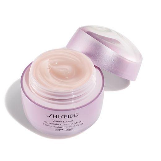 Shiseido White Lucent Overnight Cream and Mask  (Nakts krēms, maska sejai)