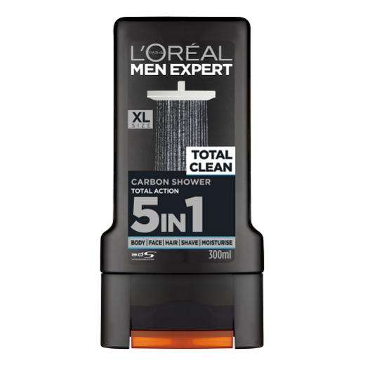 L'Oreal Paris Men Expert Total Clean Shower Gel  (Dušas želeja)