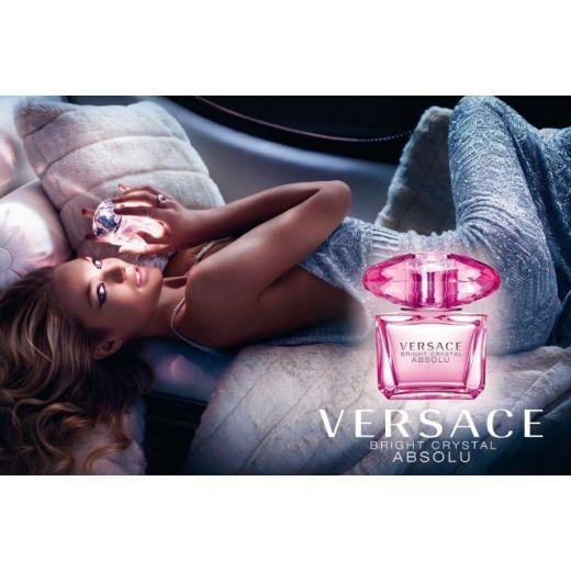 Versace Bright Crystal Absolu EDP  (Parfimērijas ūdens sievietei)