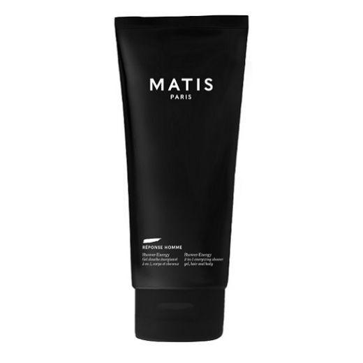Matis Reponse Homme Shower - Energy  (Enerģizējoša dušas želeja vīriešiem)