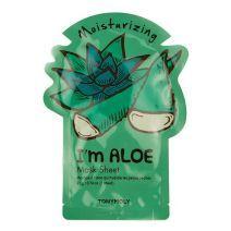 TONYMOLY  I Am Aloe Mask Sheet  (Mitrinoša sejas maska)