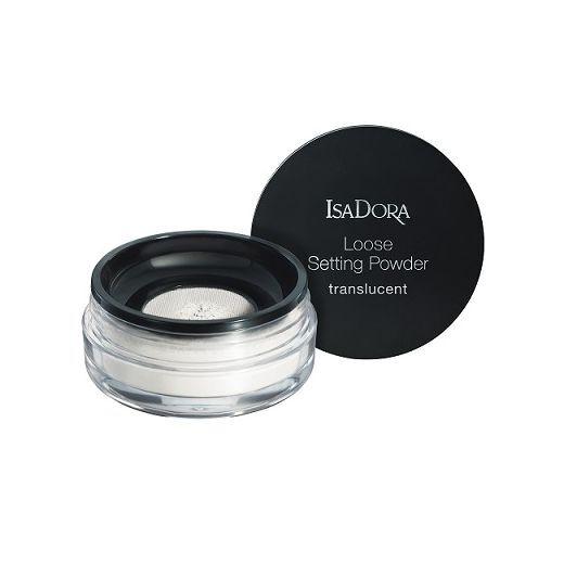 Isadora Loose Setting Powder Translucent  (Caurspīdīgs birstošais pūderis)