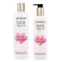 Douglas Home SPA Leilani Bliss Regenerating Body Wash + Leilani Bliss Regenerating Body Lotion  (Ķer