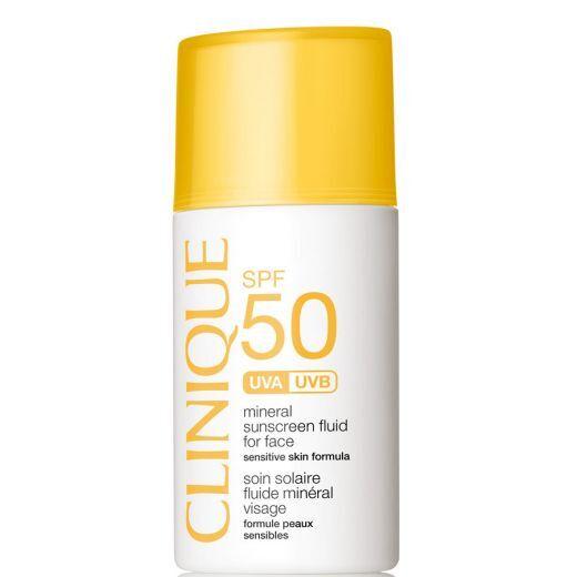Clinique SPF50 Mineral Sunscreen Fluid For Face (Fluīds sejai ar SPF 50)