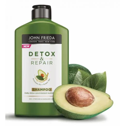 John Frieda Detox & Repair Shampoo  (Atjaunojošs šampūns matiem)
