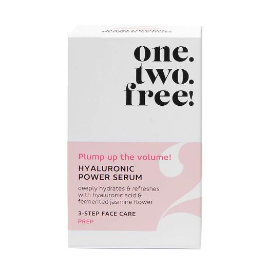 ONE.TWO.FREE! Hyaluronic Power Serum  (Mitrinošs serums sejai)