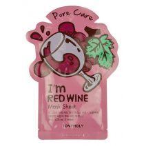TONYMOLY I Am Red Wine Mask Sheet  (Attīroša sejas maska)